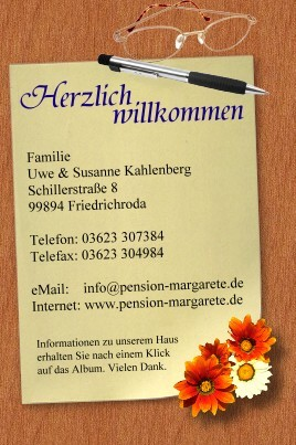 info@pension-margarete.de
